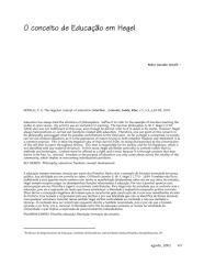 artigo - Conceito de educação em Hegel.pdf