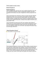 metode pengukuran pakai avometer.doc