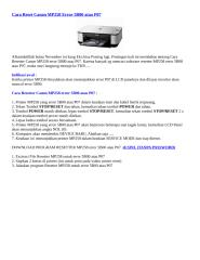 Cara Reset Canon MP258 Error 5B00 atau P07.docx