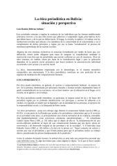 La ética periodística en Bolivia.docx