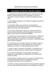 Informativo Mundial das Missões - 26 12 09 - Texto.doc