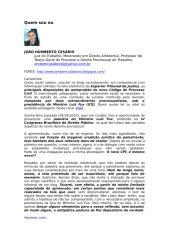 considerações sobre o novo cpc - joão humberto cesário.doc