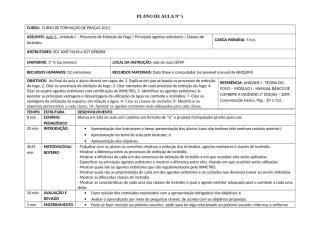 PLANO DE AULA Nº 5 Proc Ext Fogo-Ag Ext-Classes Inc.doc