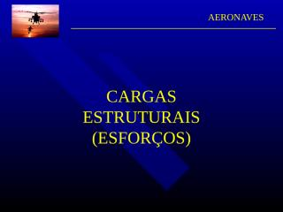 U-cargas estruturais.ppt