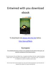 Entwined with you download ebook.pdf