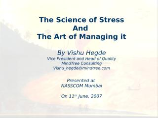 Stress and Its Management.ppt