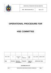 Petrobel  HSE committe.doc